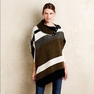 Anthropologie Transverse Poncho